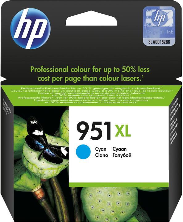 HP CN046AE, cyan, č. 951XL – ušetřete až 50 % oproti standardní náplni