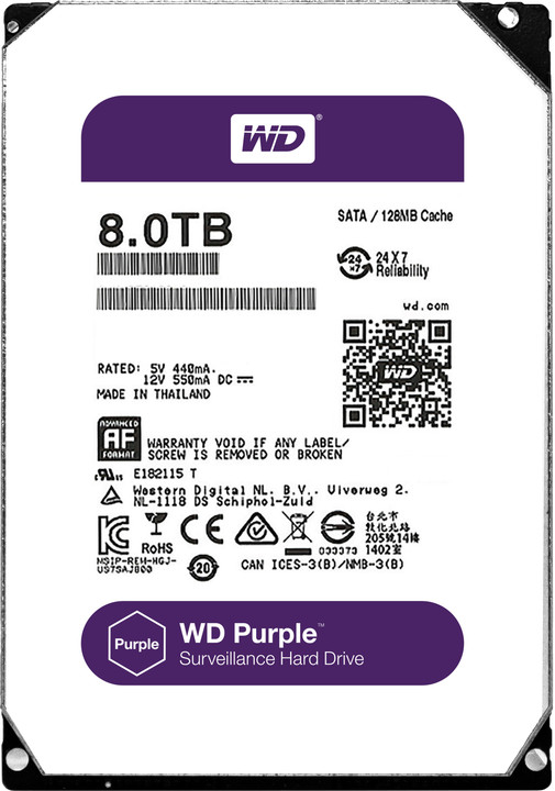 WD Purple (PURX) - 8TB