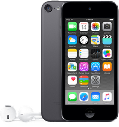 Apple iPod touch - 64GB, šedá, 6th gen.