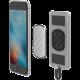Scosche MagicMount záložní baterie s magnetickým přichycením s Lightning konektorem, 4000mAh, šedá