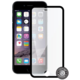Screenshield ochrana displeje Tempered Glass pro iPhone 6, Black (kovový okraj)