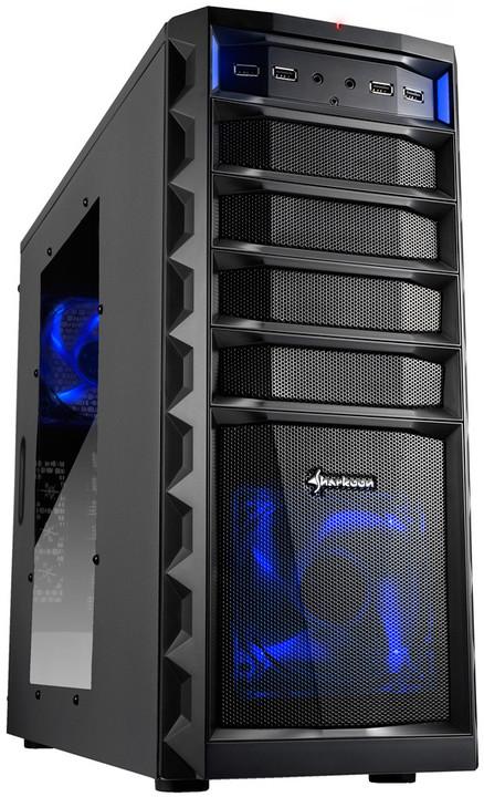 Sharkoon REX3 Value, černá