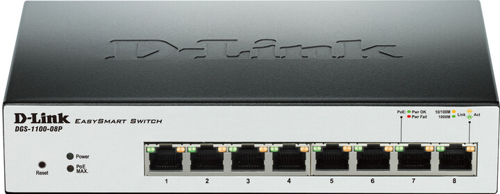 D-Link DGS-1100-08P