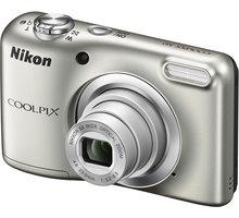 Nikon Coolpix A10, stříbrná - VNA980E1