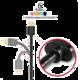 AXAGON BUMM-AM15QG, HQ Kabel Micro USB - USB A, datový a nabíjecí 2A, modrý, 1.5 m