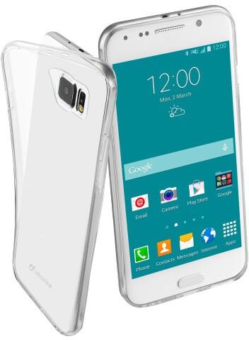 CellularLine Fine extratenký zadní kryt pro Samsung Galaxy S6, bezbarvá