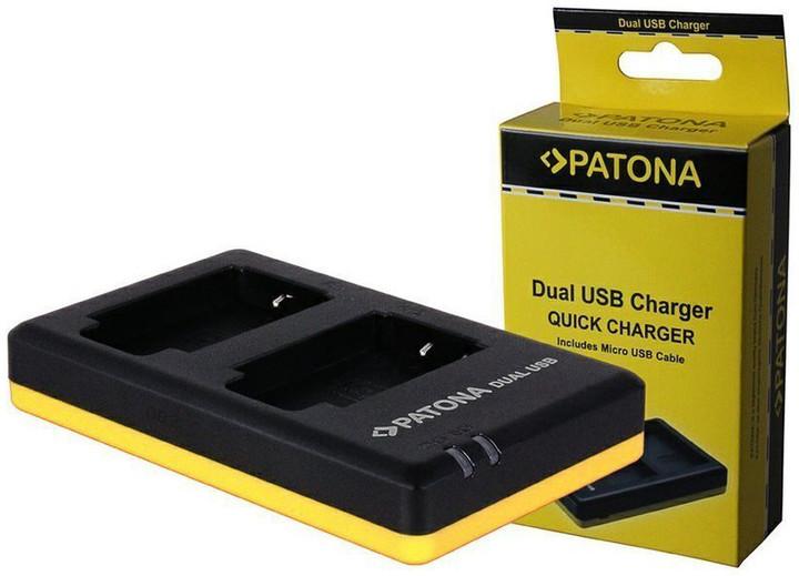 Patona nabíječka pro foto Dual Quick Nikon EN-EL3E USB