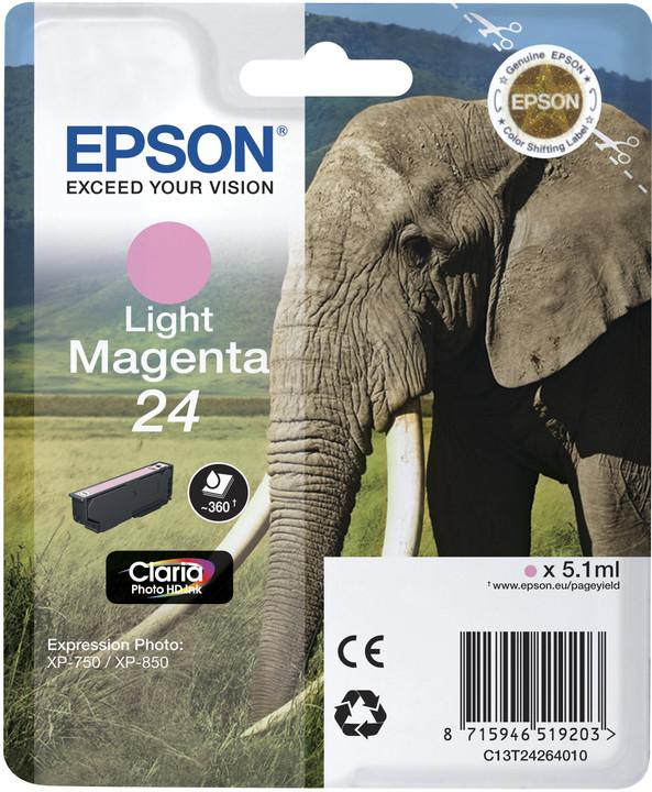 Epson C13T24264010, light magenta