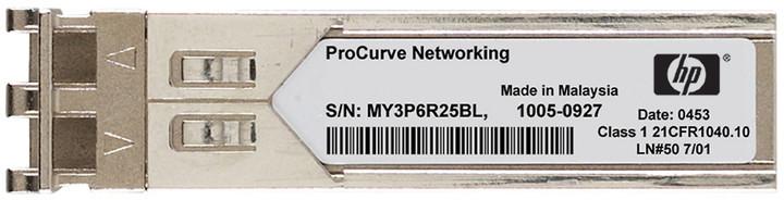 HP X120 1G SFP LC SX Rfrbd Transceiver