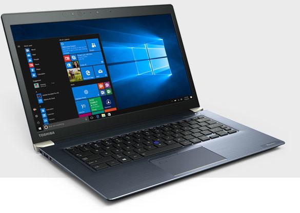 Toshiba Tecra (X40-D-10G), modrá