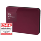 WD My Passport ULTRA - 1TB, berry