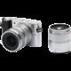 Xiaomi Yi M1 + 12-40mm + 42.5mm f/1.8, stříbrná