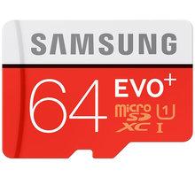 Samsung Micro SDXC EVO Plus 64GB + SD adaptér - MB-MC64DA/EU