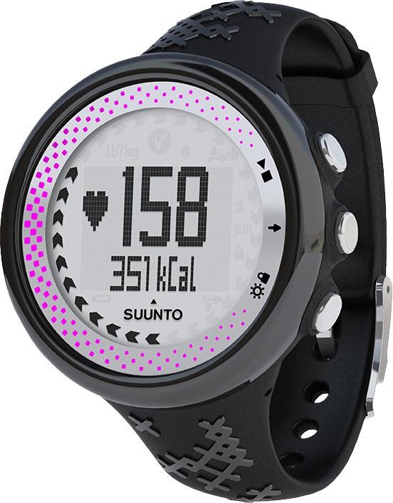 Suunto M5 Women Black Silver pink + Movestick Pack