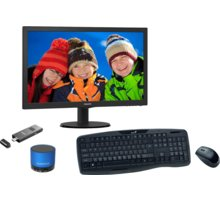 Lenovo PC Stick All-in-One Philips, černá - 90ER0000ZCAIO