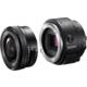 Sony ILCE-QX1, černá
