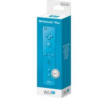 Nintendo Remote Plus, modrá (WiiU) - NIUP617