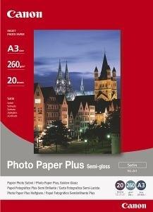 Canon Foto papír SG-201, A3+, 20 ks, 260g/m2, pololesklý