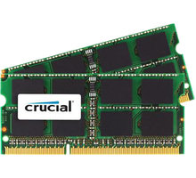 Crucial 8GB 2x4GB DDR3 1066 SO-DIMM pro Apple/Mac CL 7 - CT2C4G3S1067MCEU