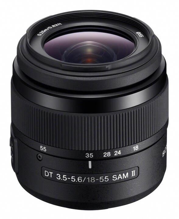 Sony DT 18–55mm f/3.5–5.6 SAM II