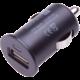 Connect IT auto adaptér 1xUSB 2,1A, černá