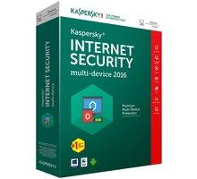 Kaspersky Internet Security multi-device 2017 CZ, 1 zařízení, 1 rok, obnovení licence - KL1941XCAFR