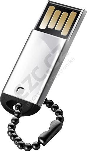 Silicon Power 4GB Touch 830/ Nerez ocel/ Vysoce odolný/ Stříbrný