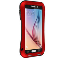 Love Mei Case Small Waist Upgrade Version for GALAXY S6 Red - LMC/0127