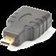 PremiumCord Adapter HDMI Typ A samice - micro HDMI Typ D samec