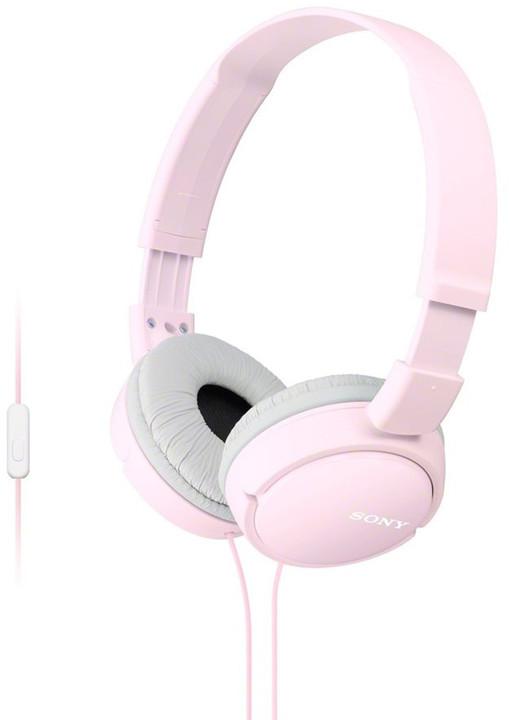 Sony MDR-ZX110AP, růžová