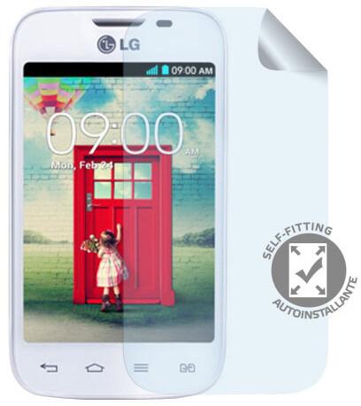 CELLY ochranná fólie displeje pro LG L40, lesklá, 2ks