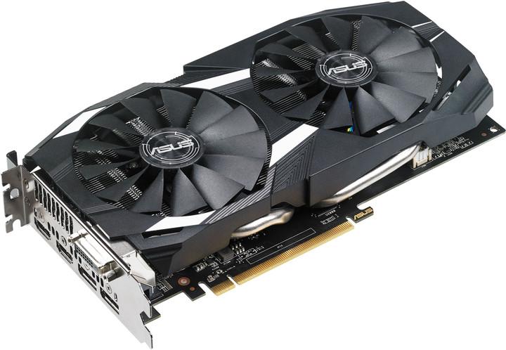 ASUS Radeon DUAL-RX580-O4G, 4GB GDDR5