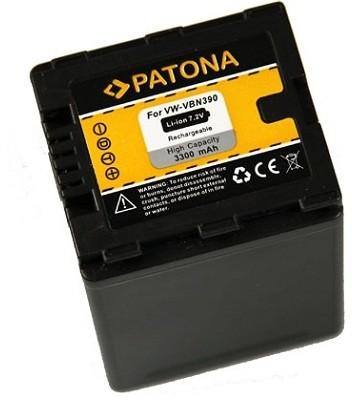 Patona baterie pro Panasonic VW-VBN390 3300mAh Li-Ion