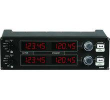 Logitech G Saitek Pro Flight Radio Panel - letecký ovladač - 945-000011
