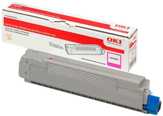OKI 46443102, (10000 str.), magenta