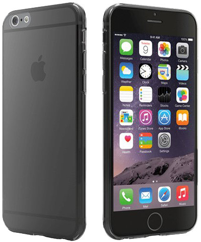 Cygnett pouzdro Super Slim TPU pro iPhone 6 - Translucent šedá