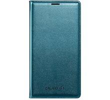 Samsung flipové pouzdro s kapsou EF-WG900B pro Galaxy S5, topaz