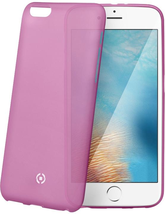 CELLY Frost pouzdro pro Apple iPhone 7, 0,29 mm, růžová