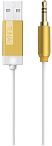 Tunai Firefly Bluetooth Receiver Car pack, zlatá
