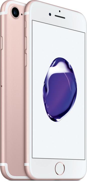 Apple iPhone 7, 32GB, růžová/zlatá
