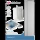 """Cellularline CLEAR VIEW průhledný kryt se stojánkem pro iPad Pro 9,7"""", stříbrná"""