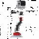 JOBY Suction Cup&GorillaPod Arm, černá/červená