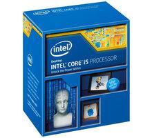 Intel Core i5-4670K - BX80646I54670K + COOLER SilentiumPC Fera 3 HE1224, chladič CPU
