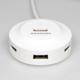 AXAGON HUE-X6G 4x USB2.0 hub 80cm cable + micro USB OTG WHITE