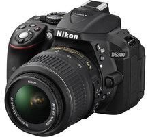Nikon D5300 + 18-55 VR AF-P, černá - VBA370K007