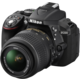 Nikon D5300 + 18-55 VR AF-P, černá  + Spací pytel Alpine Pro Saltan v ceně 999 Kč