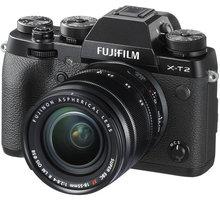 Fujifilm X-T2 + XF 18-55mm, černá - 16519340