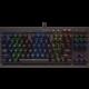 CORSAIR Gaming K65 LUX, Cherry MX RGB Red, RGB LED, černá, NA