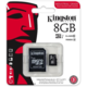 Kingston Industrial Micro SDHC 8GB Class 10 UHS-I + SD adaptér