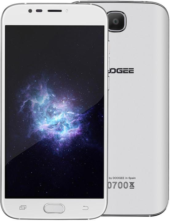DOOGEE X9 Mini - 8GB, bílá